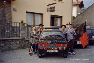 [cml_media_alt id='305']Saint-Marcel. Voiture des conscrits de 1981. Archives BREL[/cml_media_alt]